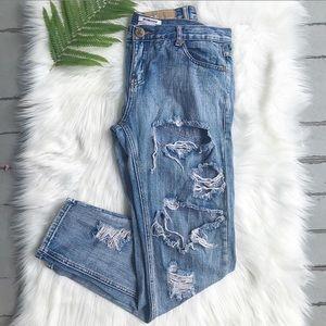 One X OneTeaspoon distressed jeans
